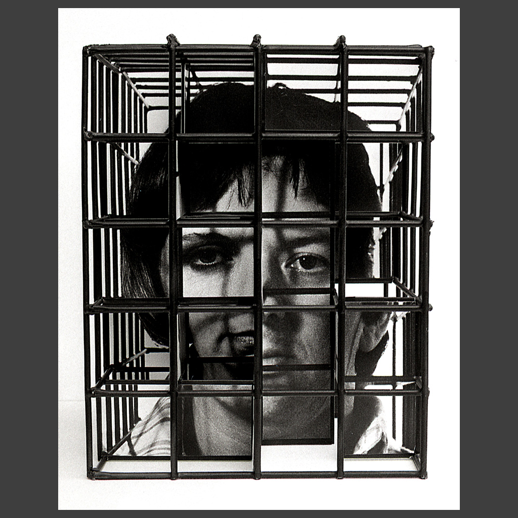 Peter Banks Caged Head Couple 1