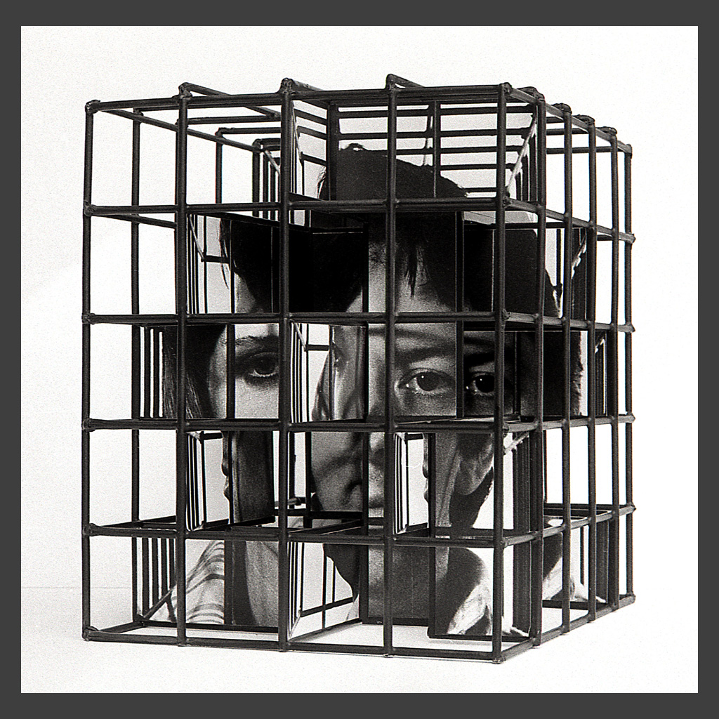Peter Banks Caged Head Couple 5