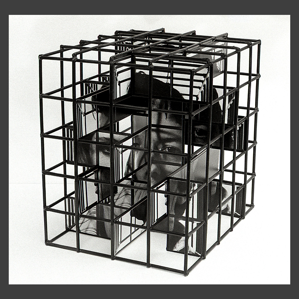 Peter Banks Caged Head Couple 6