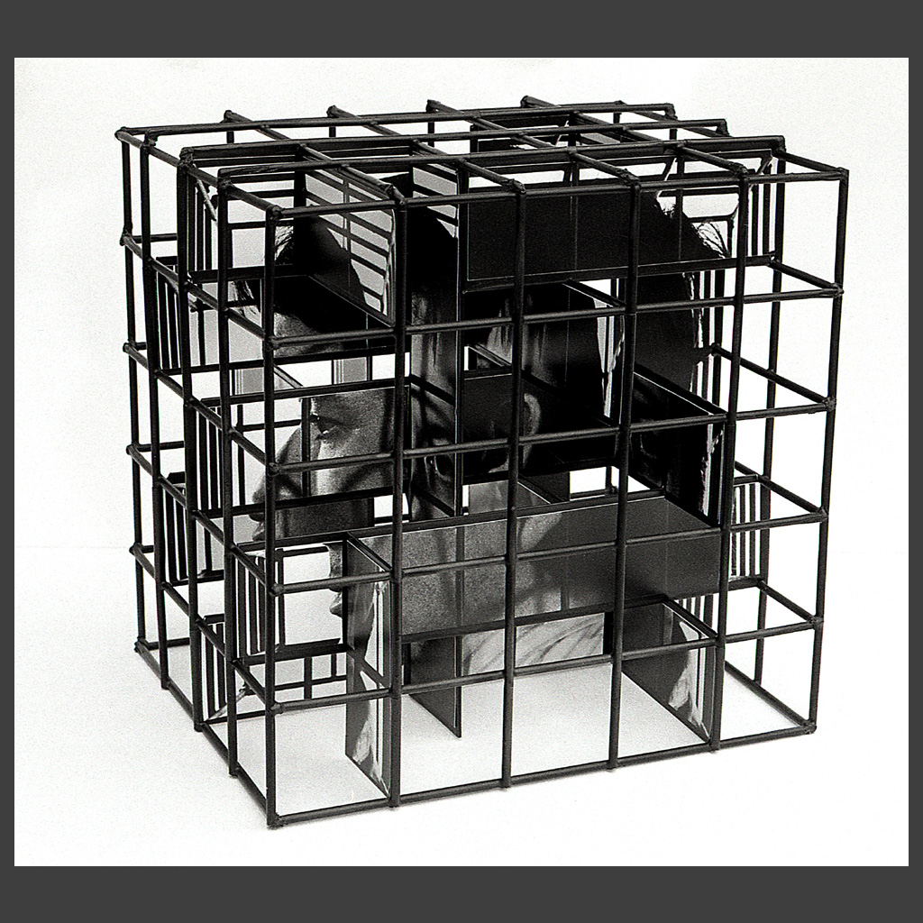 Peter Banks Caged Head Couple 7